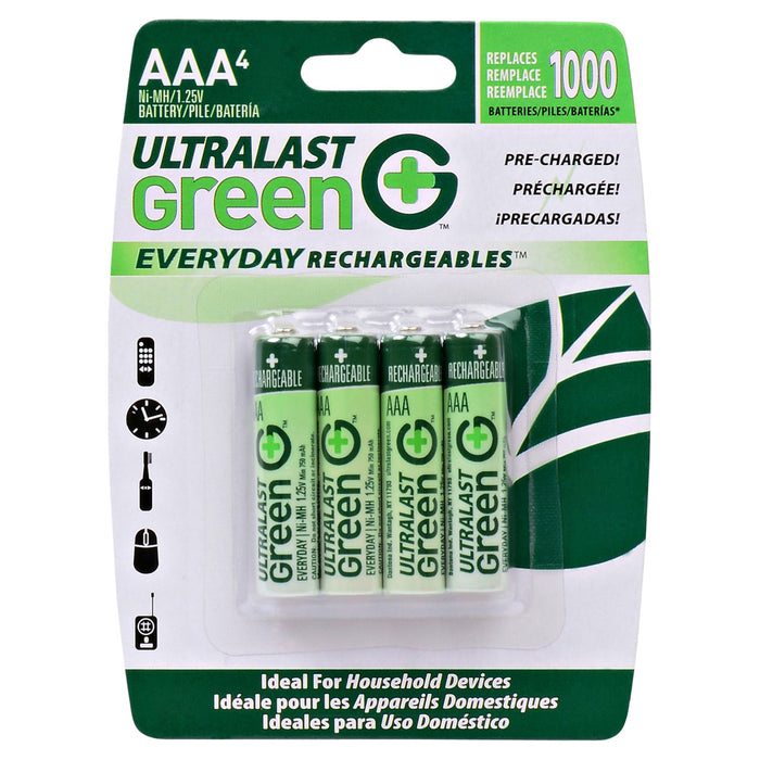 Household Battery ULGED4AAA Replaces Lenmar - Pro407
