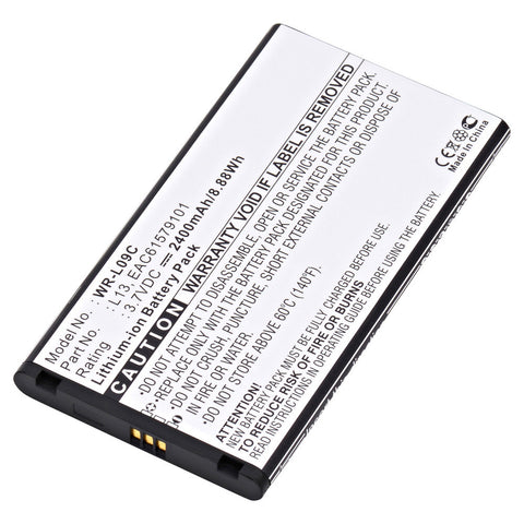 Wireless Router Battery WR-L09C Replaces LG - AGL29141