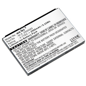 Image of WR-W5 - Replacement Battery for AT&T Unite, Sprint AirCard, Netgear AirCard wireless router batteries