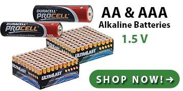 CR Lithium, SR Silver Oxide, & LR Alkaline Coin Button Cell Batteries