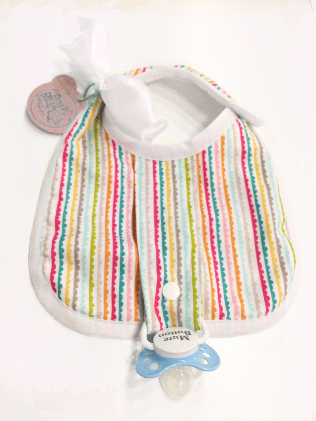 Binkie Bib - Mila Print - Bee Bear Children's Designs
