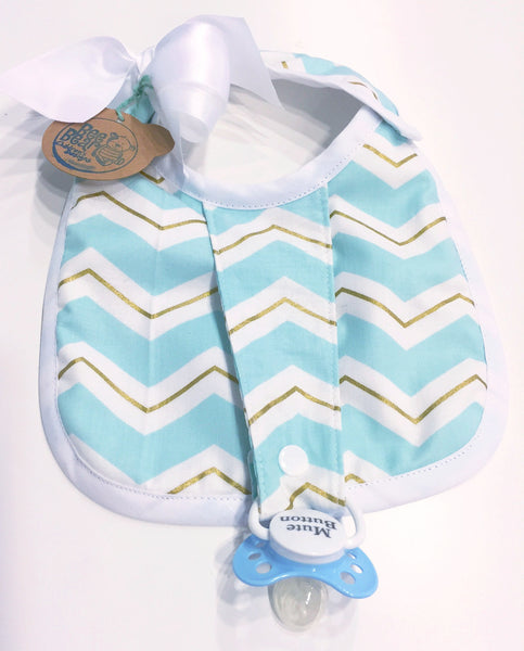 Binkie Bib -Blair Print - Bee Bear Children's Designs - 1
