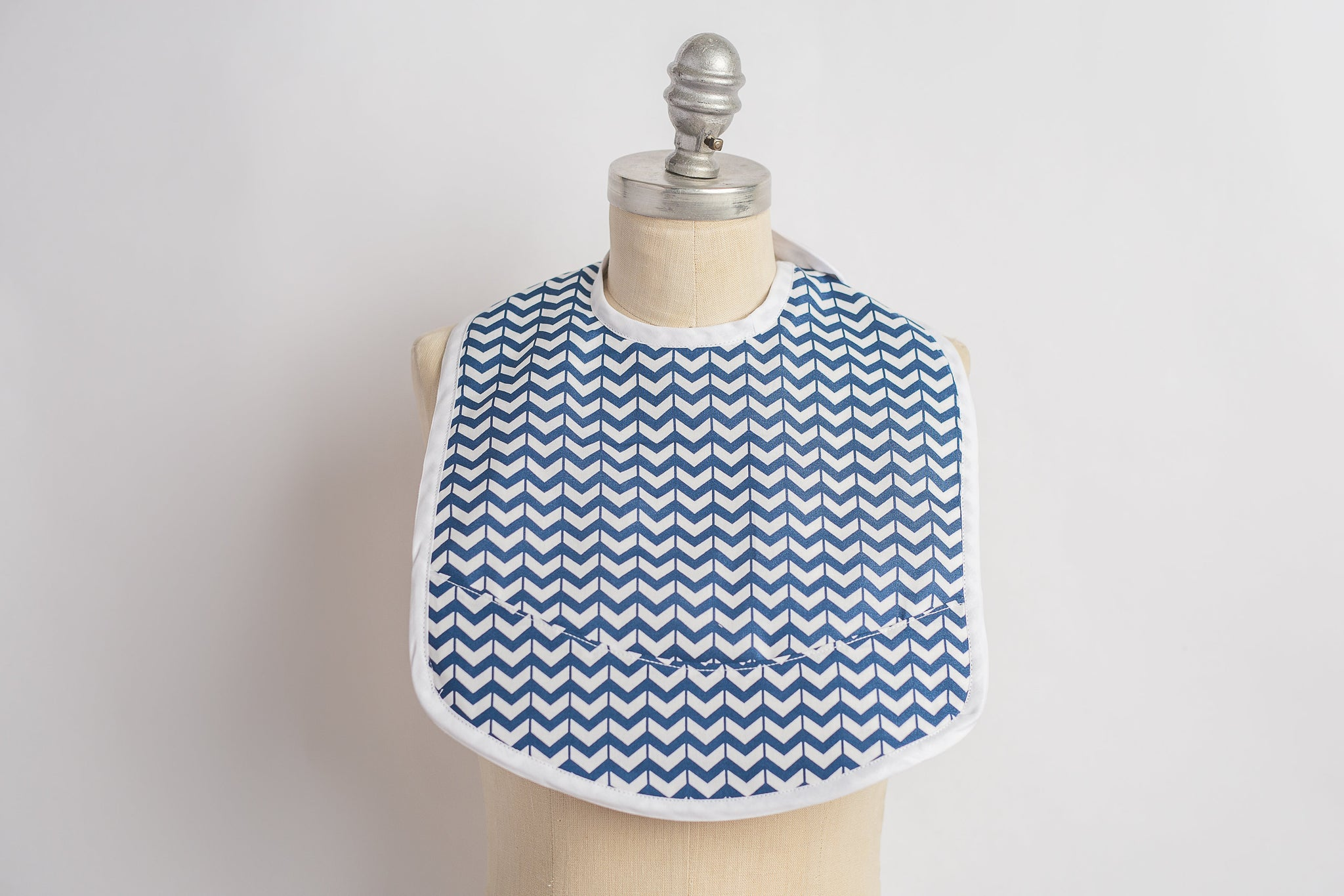 Toddler Bib - Pierce Print