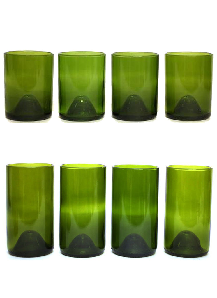 12 & 16oz 4 packs as a set: green: with personalized engraving and wrapping options