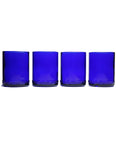 12oz 4 pack: cobalt blue: with personalized engraving and wrapping options