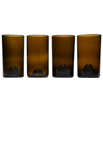 16oz 4 pack: amber: with personalized engraving an gift wrapping options