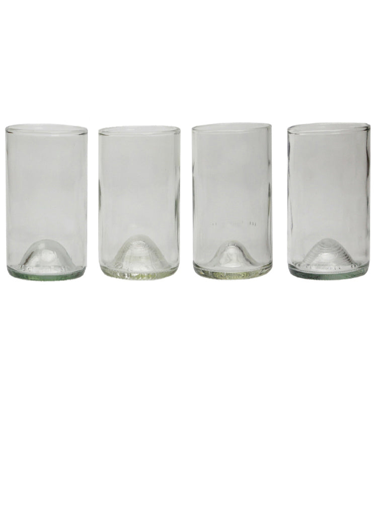 16oz 4 pack: clear: with personalized engraving an gift wrapping options