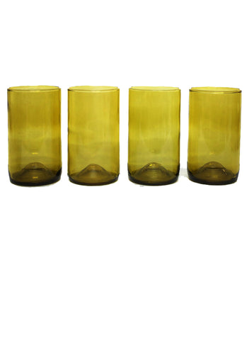 16oz 4 pack: gold: with personalized engraving an gift wrapping options