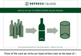 Refresh Glasses 16oz (Set of 4) choose by color or as a mixture