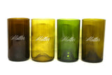 Custom etch a name or message on a 16oz set of 4 Refresh Glasses
