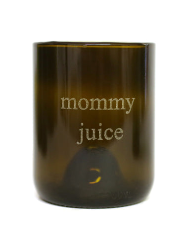 Refresh Glass 12oz Mommy Juice Glass