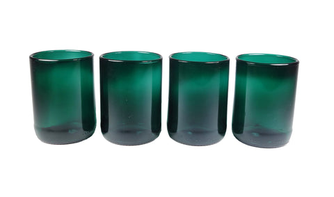 Refresh Glass Limited Edition Teal 12oz 4 pack