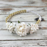 Valentina- Cream and Gold Headband