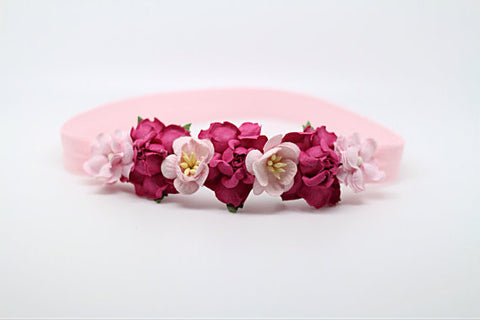 Floral Crown Headband