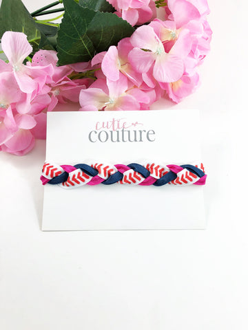Baseball Braided Headbands-Pick Your Favorite Team