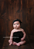Karen- Black Knotted Headband