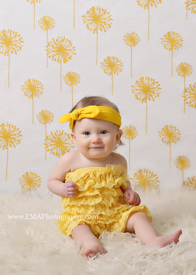 Karen- Yellow Knotted Headband