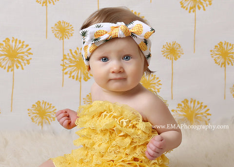 Karen- Pineapple Knotted Headband