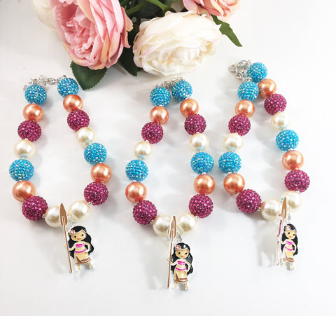 Moana Bubblegum Necklace-