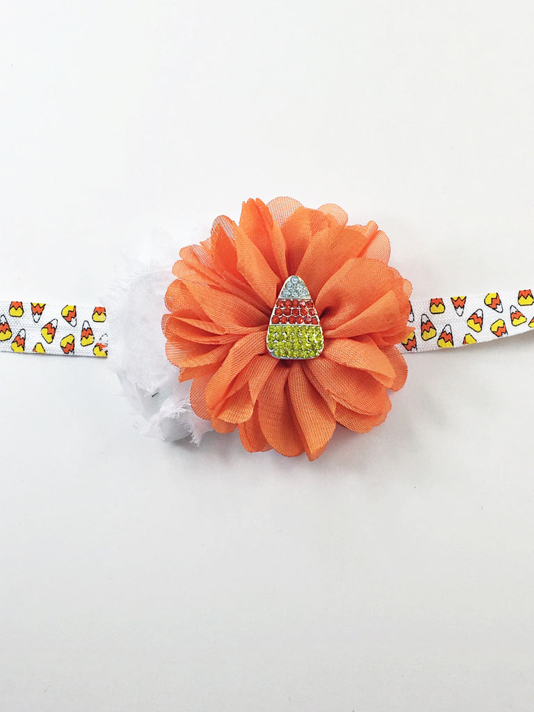 Gabriella- Candy Corn Headband