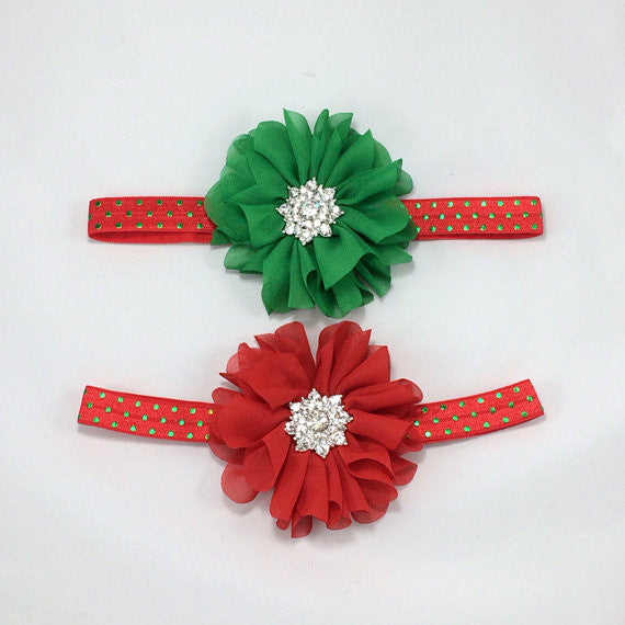 Lyla- red or green with star bling