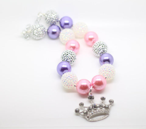 Princess Necklace- Pink and Purple
