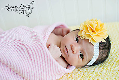 Ariel- Yellow Headband