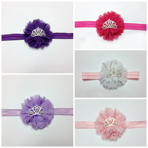 Luciana- Princess Crown Headbands