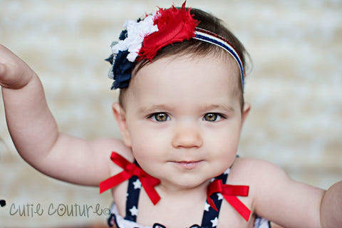 Jasmin- 4th of July Headband