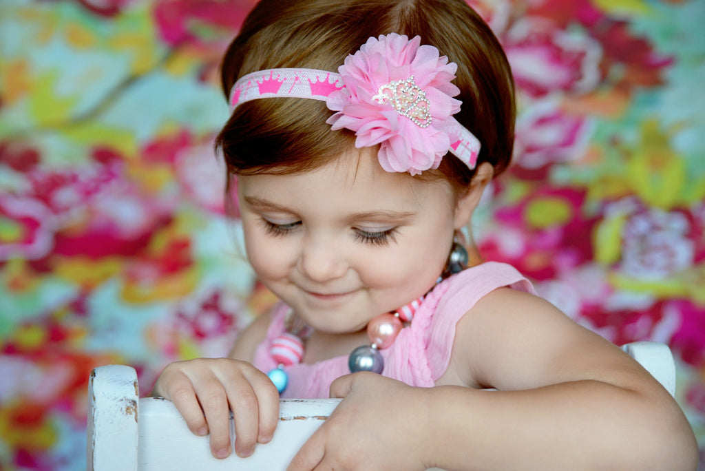 Luciana- Pink Princess Headband