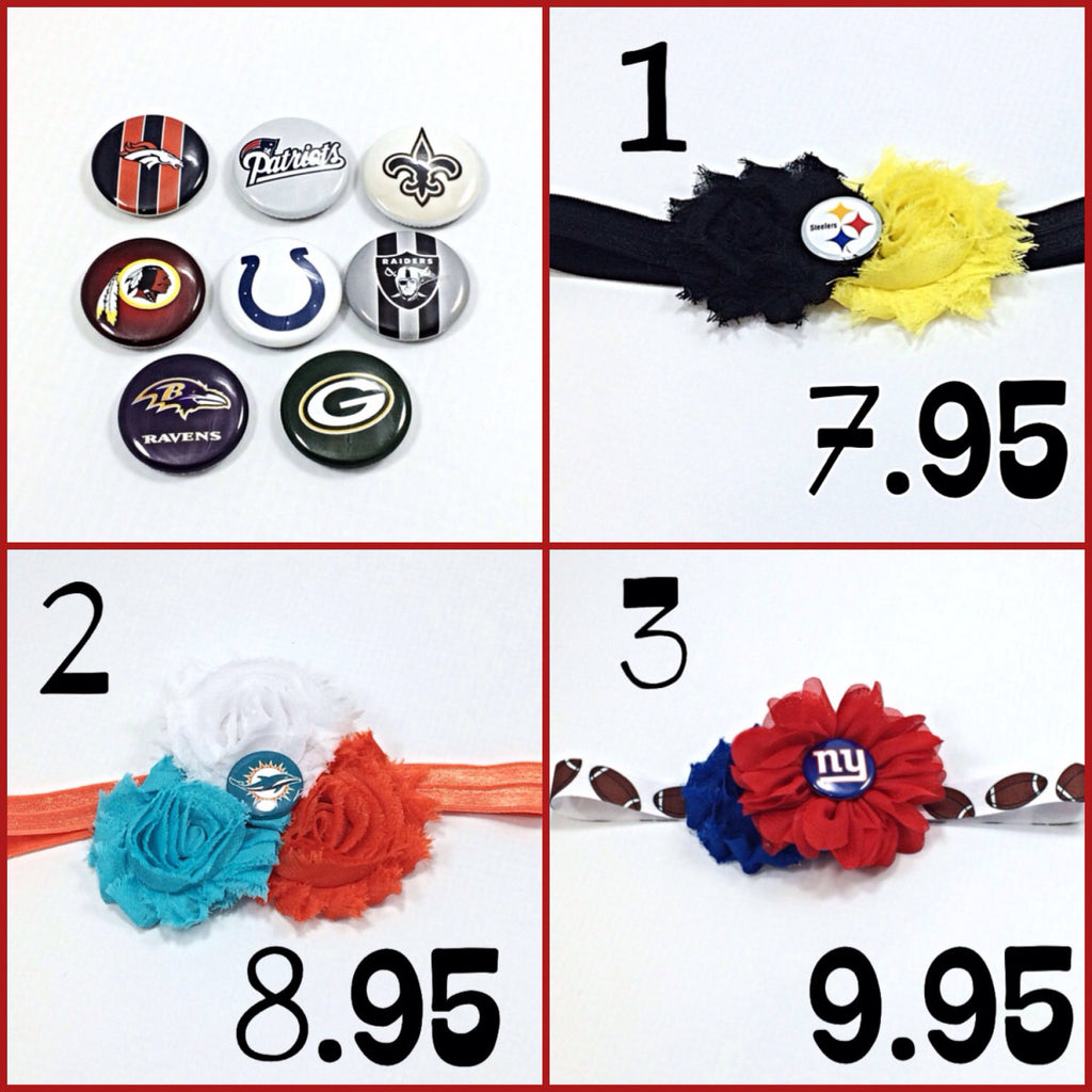 Football Headbands- Pick Your Favorite Team
