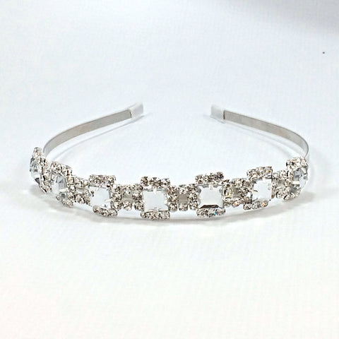 Joellie- Hard Headband- Bridal