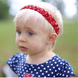 Savvy- Red Sequin Headband