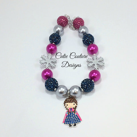 Frozen Bubblegum Necklace