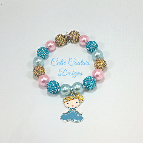 Cinderella Bubblegum Necklace