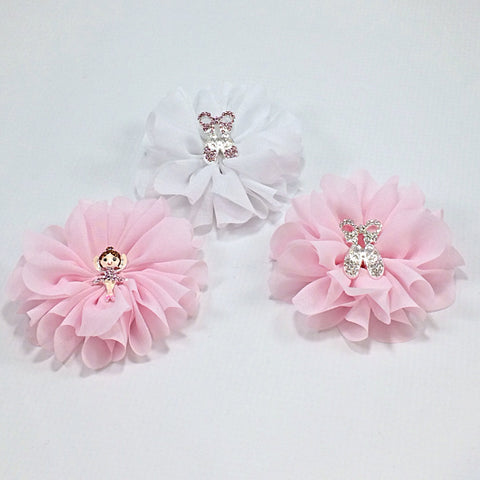 Lyla- Ballerina Clip and Headband