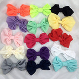 Bonnie- White Bow Headband