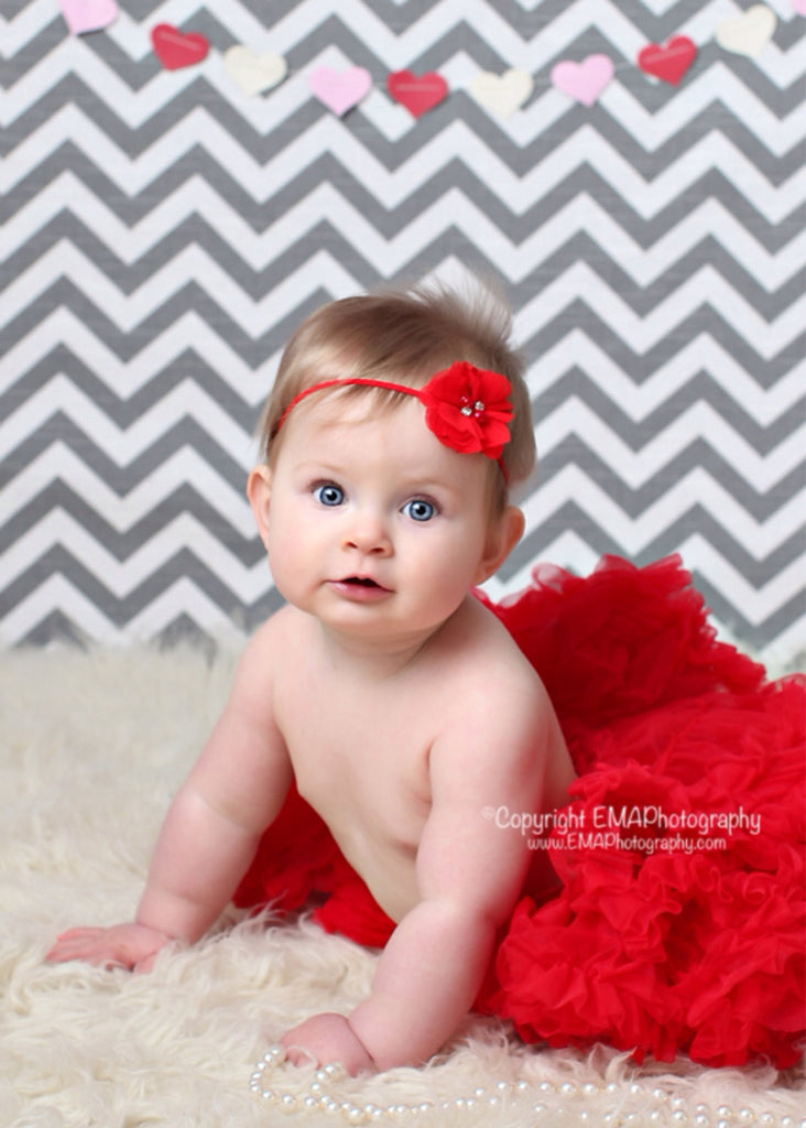 Cammie- Red Headband or Clip