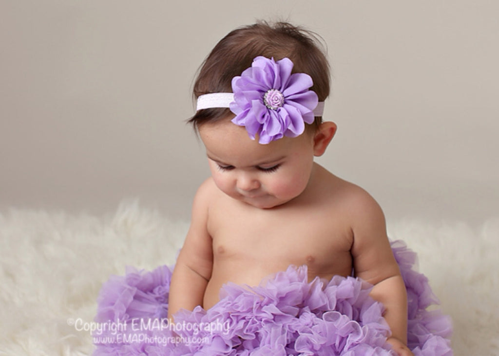 Lyla- Lavender Flower with lavender rose
