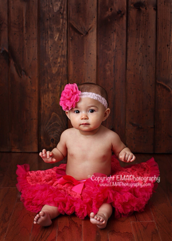 Lacey- Hot Pink Headband