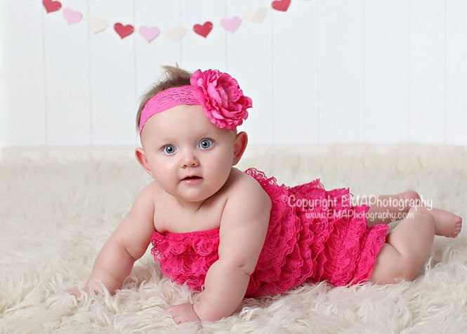 Samantha- Hot Pink Headband