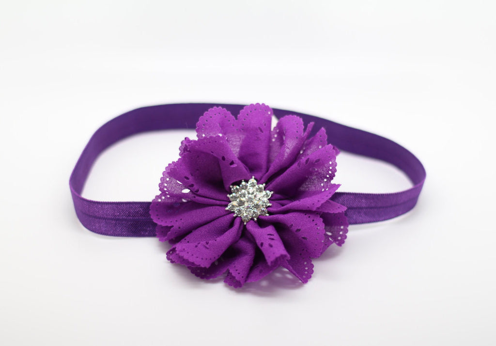 Elena- Purple Headband