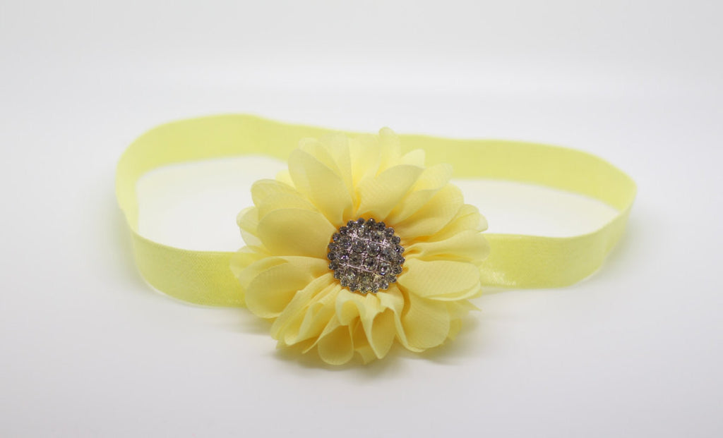 Luciana- Yellow Headband