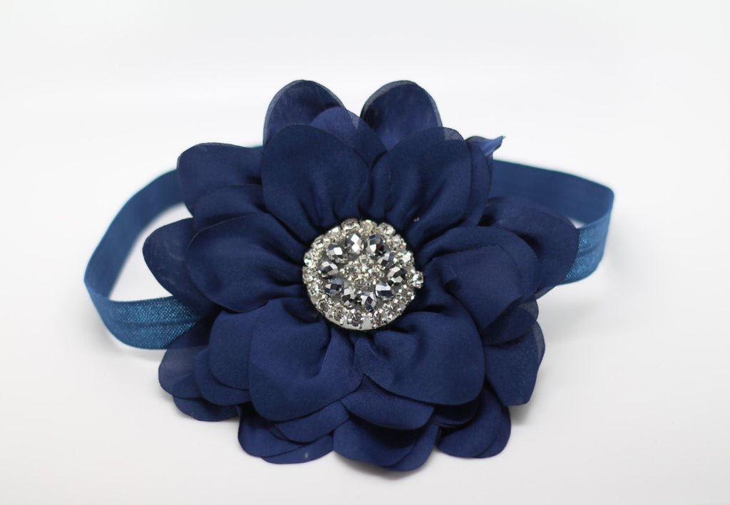 Simone-Navy Headband
