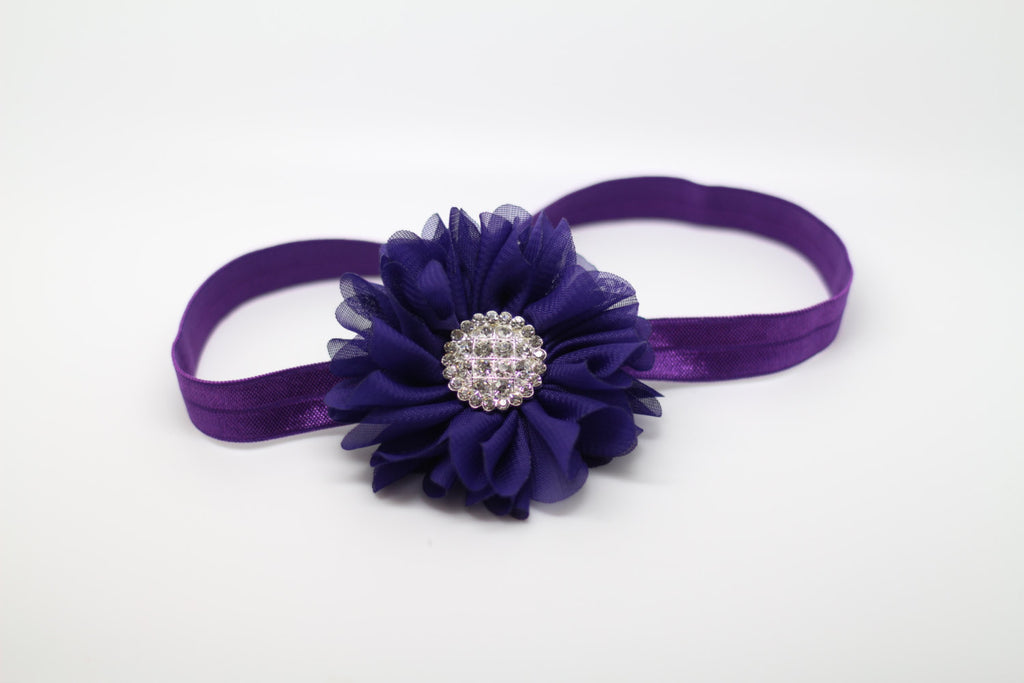 Luciana- Purple Headband