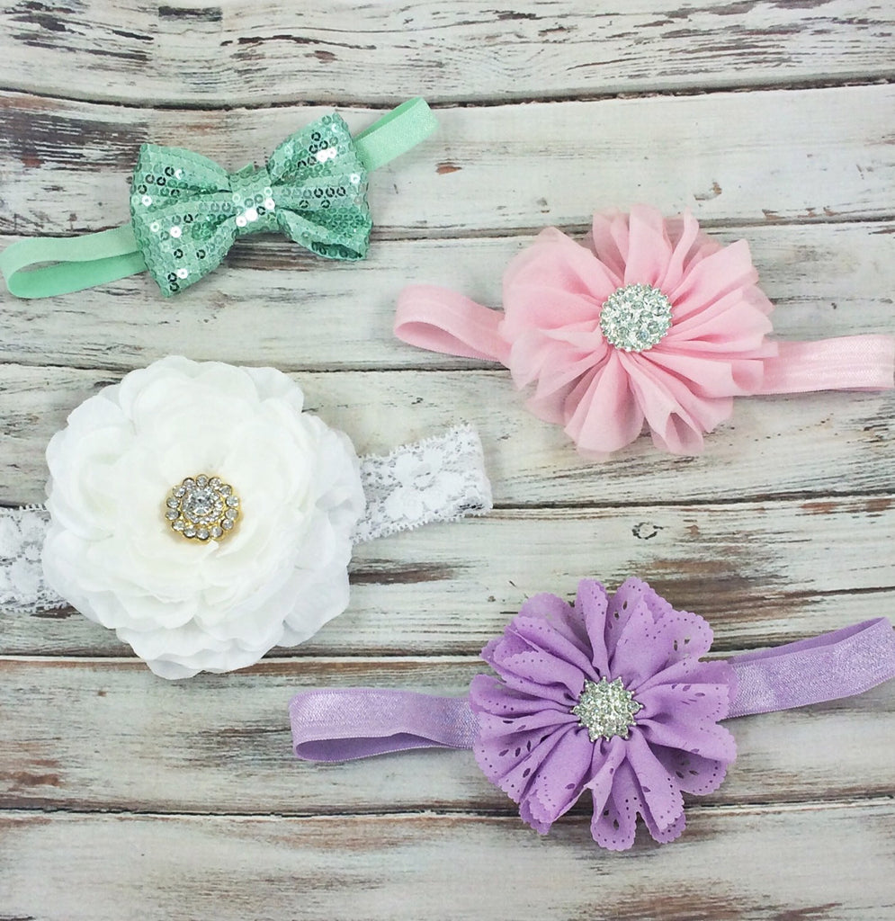 Baby Shower Headband Gift Set