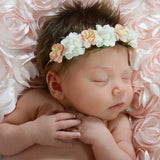 Aubrey- Peach and Cream Headband