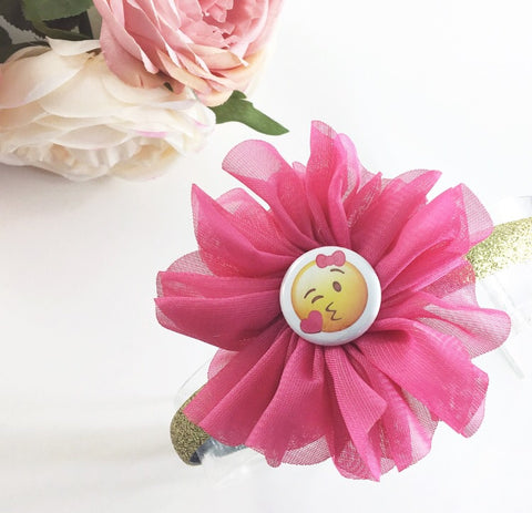 Emoji Headbands and Clips- Lyla Flowers