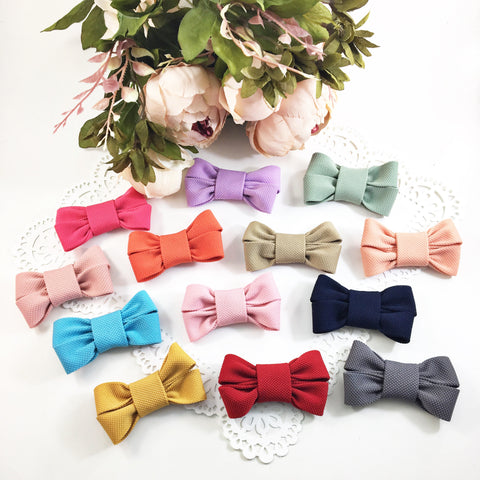Chloe-Fabric Bow Headbands