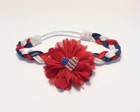 Luciana- 4th of July headband